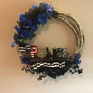 Other - Police Wreath